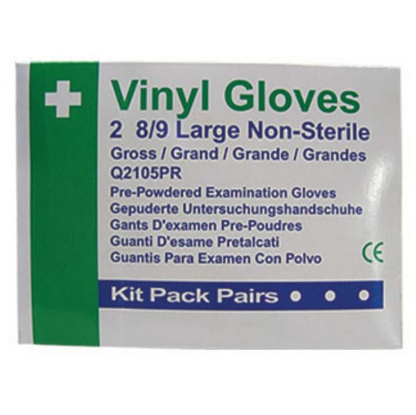 Disposable First Aid Gloves