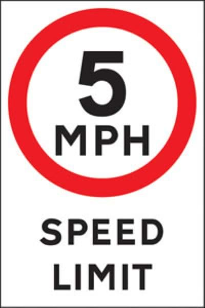 Non Reflective Traffic Signs