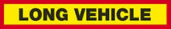 Vehicle Warning Signs