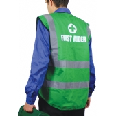 First Aider Coloured Waistcoat