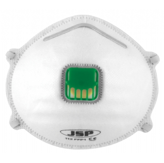 JSP Olympus FFP1 Valved Disposable Moulded Masks (Pack 10)