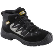 JCB 2CX Safety Hiker Boot Black