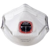 JSP Typhoon FFP3D Valved Disposable Horizontal Masks (Pack 10)