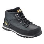JCB 3CX Waterproof Safety Hiker Black