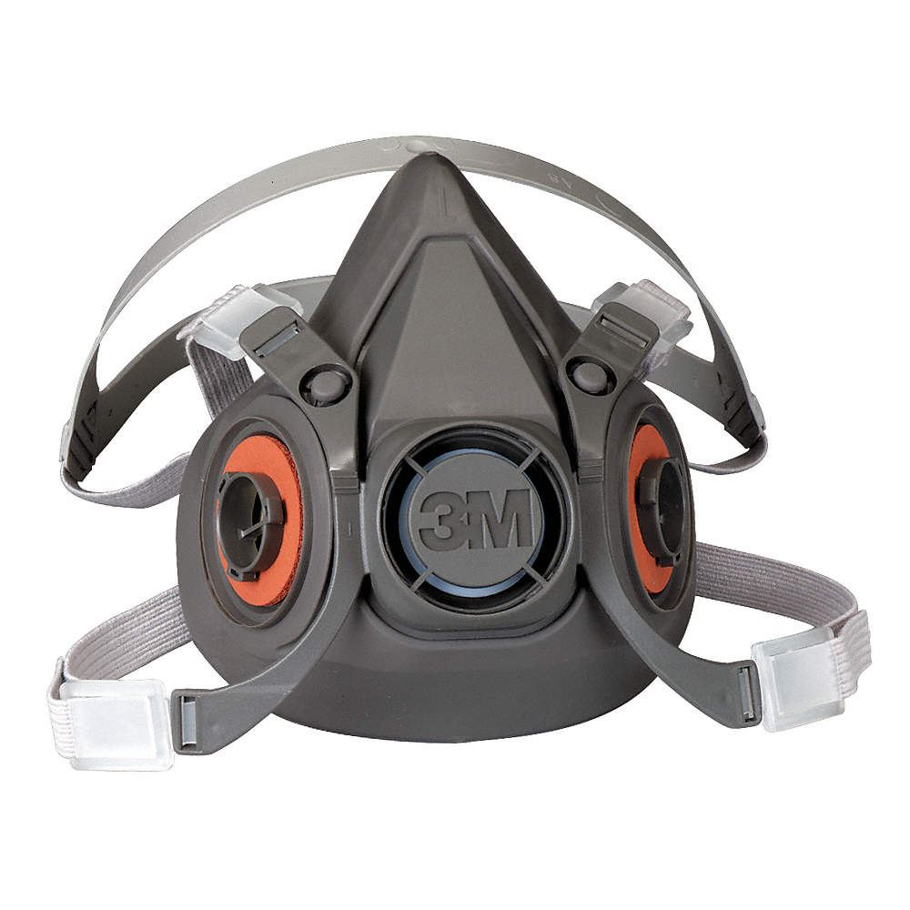 3M 6000 Series Half Mask (Without Filters) Various Sizes Available