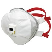 3M 8835 FFP3DR Valved Premium Disposable Masks (Pack 5)