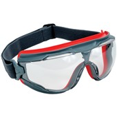 3M Goggle Gear 500 Series Safety Goggles - Clear Scotchgard Anti Scratch & Anti Fog UV Lens