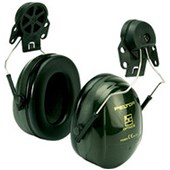 3M Peltor Optime II Helmet Mount Ear Defenders - SNR 30