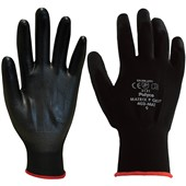 Polyco Matrix P Grip Black PU Gloves 40-MAT