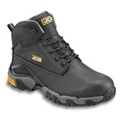 JCB 4X4 Waterproof Safety Boot Black