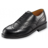 Lotus Brogue Safety Shoe Black