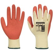 Premium Orange Grip Glove - Latex Coating