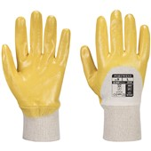 Portwest A330 Nitrile Light Knitwrist Work Gloves