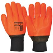 Weatherproof Hi-Vis Glove - PVC Coating