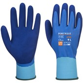 Portwest AP80 Liquid Pro Waterproof Latex Foam Grip Gloves