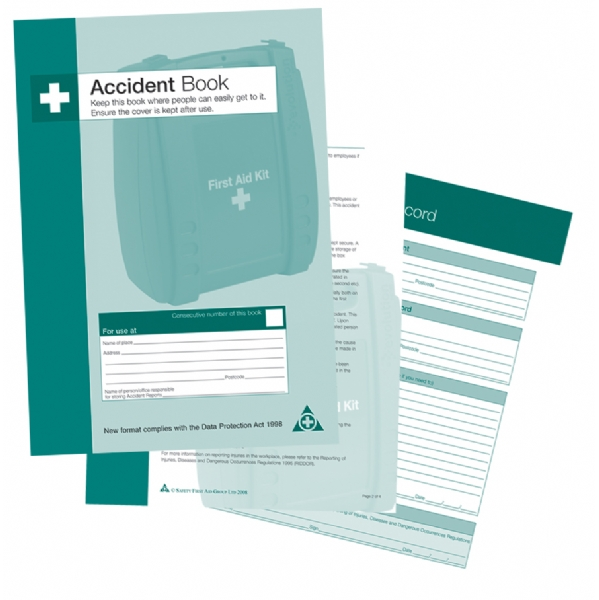 accident report book uk Under health and safety law, you must report and keep records of certain injuries, accidents and cases of work-related diseases this must include the date, time and place of event personal details of those involved and a brief description of the nature of the event or disease involved.