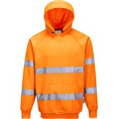 Portwest High Visibility Hooded Sweatshirt GO/RT Orange