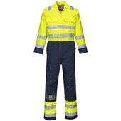 Bizflame High Visibility Flame Retardant Anti-Static Coverall