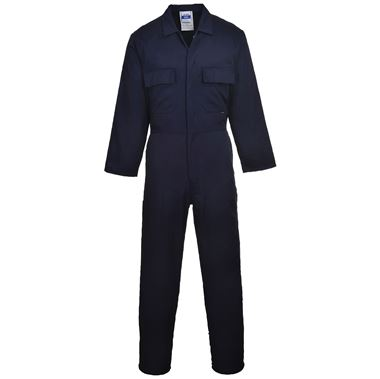 Stud Polycotton Workwear Coverall