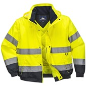 Portwest Hi-Vis 2-in1 Bomber Jacket - Waterproof