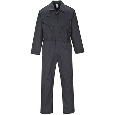 Zip Polycotton Workwear Coverall