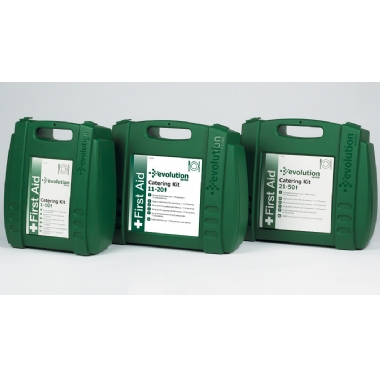 Catering First Aid Kits 1-10, 11-20, 21-50 Persons