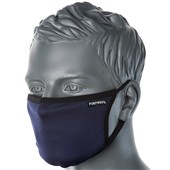 Reusable 3 Ply Fabric Face Mask Navy (Single Mask)
