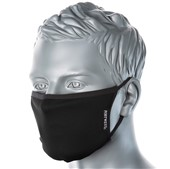 Reusable 3 Ply Anti-Microbial Fabric Face Mask Black (Single Mask)