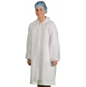 General Purpose Disposable Workwear Coat (Pack 10)