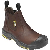 JCB Brown Dealer Safety Boot S3