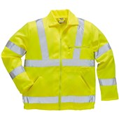 Portwest E040 Yellow Hi Vis Poly-Cotton Jacket