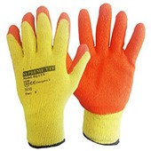 Orange Grip Glove - Latex Coating