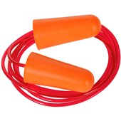 Portwest EP08 PU Foam Corded Ear Plugs (200 Pairs) - SNR 37dB