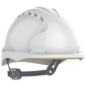 JSP EVO3 Micro Peak Safety Helmet - Vented Slip Ratchet Micro Peak