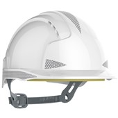 JSP EVOLite CR2 Reflective Safety Helmet - Vented Slip Ratchet Mid Peak