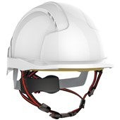 JSP EVOlite Skyworker Safety Helmet - Vented Wheel Ratchet Micro Peak