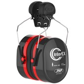 JSP InterEX Helmet Mounted Ear Defenders AEK020-005-400 - SNR 28dB