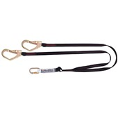 Spartan Twin Tail Scaffolder Fall Arrest Lanyard - 2Mtr