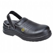 Compositelite ESD Safety Clog Black