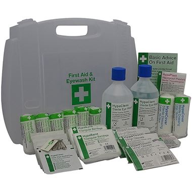 First Aid & Eyewash Kit