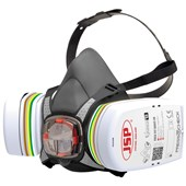 JSP Force 8 Half Mask with ABEK1P3 Press To Check Filter BHT0C3-0L5N00
