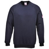 Flame-Resistant Anti-Static Long Sleeve Sweat Shirt