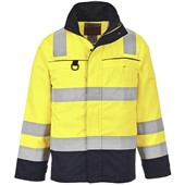 Potwest FR61 Hi Vis Multi Norm Flame Retardant Anti-Static Jacket