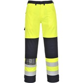 Bizflame Multi Hi Vis Flame Retardant Anti-Static Trouser