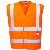 Portwest FR75 High Visibility Flame Retardant Vest RIS Orange