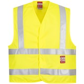 Portwest FR75 Yellow Hi Vis Flame Retardant Vest