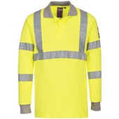 Modaflame Hi Vis Inherently Flame Resistant Anti-Static Polo Shirt