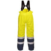 Bizflame Multi Hi Vis Flame Retardant Anti-Static Breathable Rain Trouser