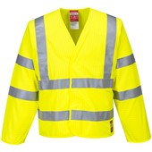 Portwest FR85 Yelllow Hi-Vis Anti Static & Flame Retardent Jacket