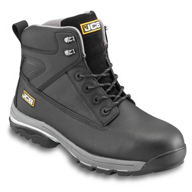 JCB F Track Black Waterproof Safety Boot S3